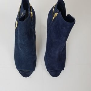 MARC FISHER BLUE SERENITY BOOTIES